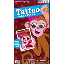 Monkey Fun Valentine Cards for Kids (27667) by Mello Smello
