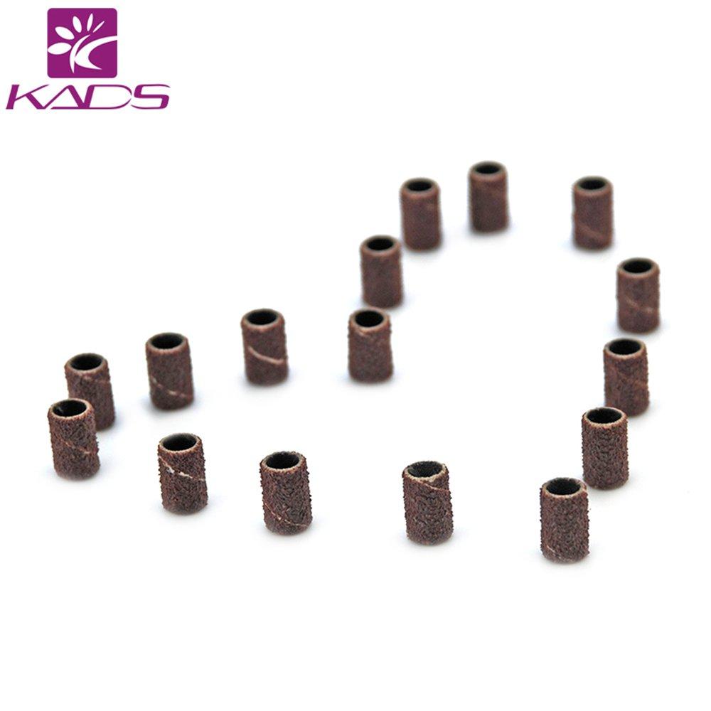 KADS 150pcs Electric Pen Nail Drill Sanding Bands Bits Manicure Kit Set, 80# 120# 180# Each Size 50pcs Nail Tools KADS Co. Ltd