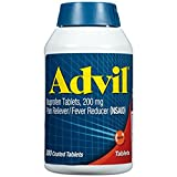 #8: Advil Tablets, 200mg - 1 Pack (360 Tablets Each ) VCBD