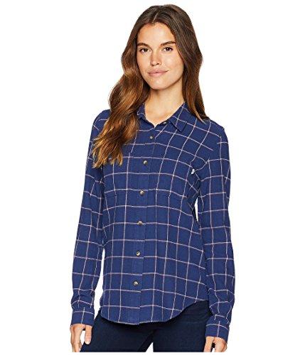 気味の悪い放棄された是正[VANS(バンズ)] レディースシャツ?ボタンダウン Meridian III Flannel Medieval Blue S