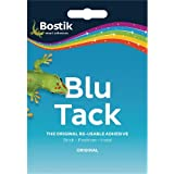 Bostik Blu Tack The Original Re-Usable Adhesives (Pack of 12)
