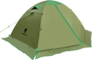 GEERTOP Backpacking Tent for 2 Person 4 Season Camping Tent Double Layer Waterproof for Outdoor Hunting, Hiking, Climbing, Travel - Easy Set Up