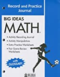 Big Ideas Math (Blue) Record and Practice Journal, HOLT MCDOUGAL, 1608402347