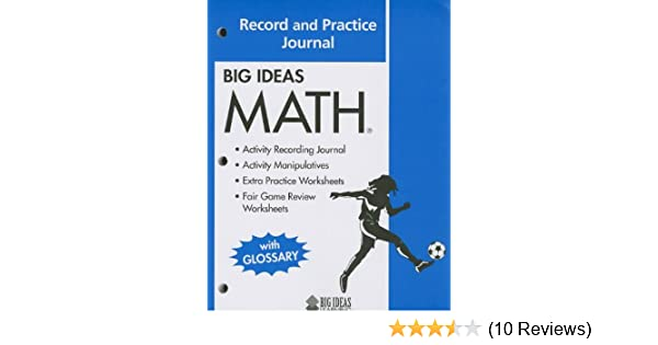 Big ideas math common core record and practice journal holt big ideas math common core record and practice journal holt mcdougal 9781608402342 amazon books fandeluxe Choice Image