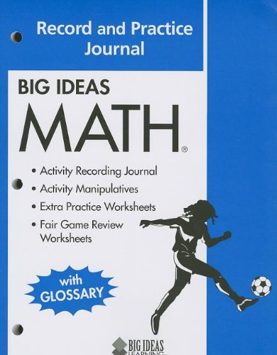 Counting Number worksheets math picture worksheets : BIG IDEAS MATH: Common Core Record and Practice Journal Blue: HOLT ...