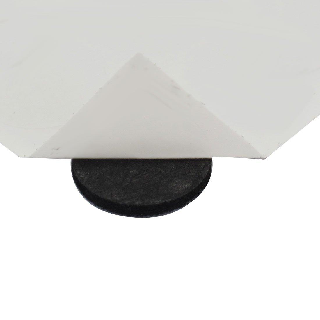 eDealMax Table Ronde Chaise Meubles Coussinets Couverture Protecteur de Plancher 18mm Dia 640pcs Noir