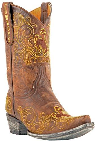 Ncaa Wyoming Cowboys Mujeres 10-inch Gameday Botas De Latón