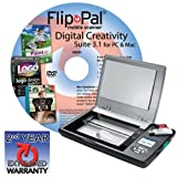 Flip-Pal mobile scanner with Digital Creativity Suite 3.1 DVD and 2nd year extended warranty