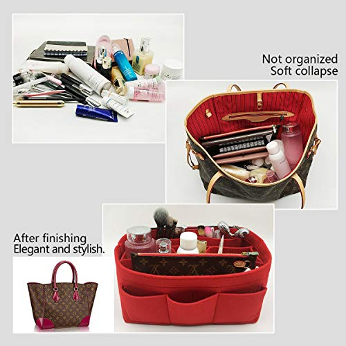 LEXSION Felt Handbag Organizer decb61dff394f