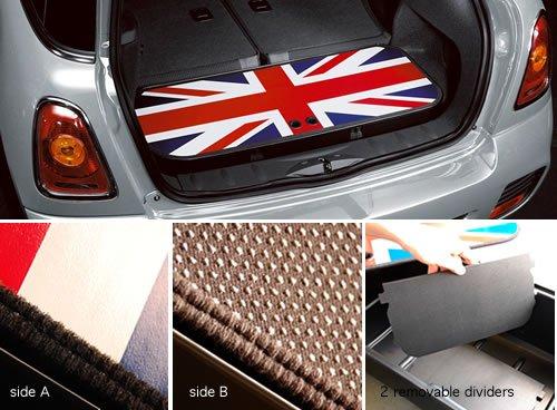 MINI Cooper Genuine Factory OEM 51470415025 Union Jack Boot Box 2002 - 2013