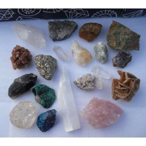 Gemstones Box Set, Natural, Unique Collection, Large Gifts and Guidance 670232