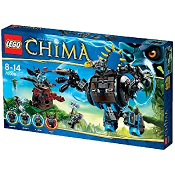 this item lego chima gorilla striker 70008 than go japan import