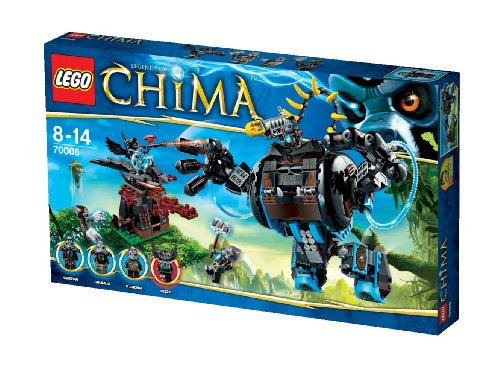 LEGO Chima Gorilla striker 70008 Than Go (japan import)