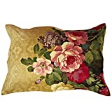 Alicemall 2 Pieces 3D Bedding Pillow Shams Antique Luxury Oil Painting Flowers Print Pillowcases, 19 27 inches (2PillowSham)