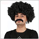 Afro Wig Unisex Choose Color 1 Afro Wig From 70s 60s Black Or Brown Wig Fancy Costume Funny Wig Party Costume