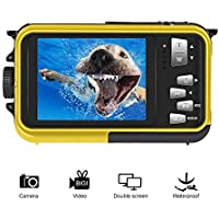 Underwater Camcorder Waterproof Camera Full HD 1080P for...
