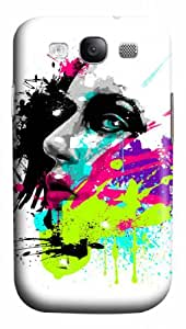 Beautiful face Wonderful Styles Durable Cover Case For Samsung Galaxy S3