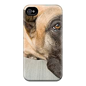 Cute Tpu Phone Case Animals World Dogs Sad Case Cover For Iphone 4/4s