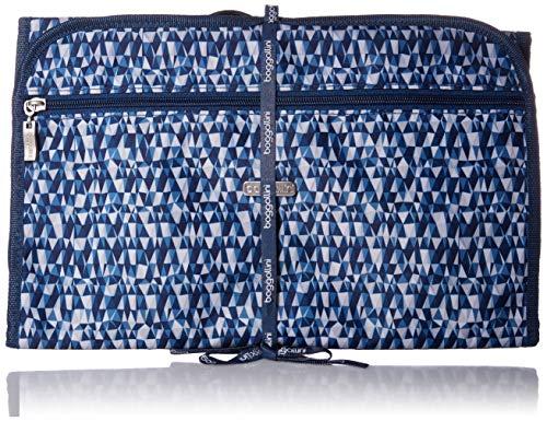 Baggallini Hanging Travel Organizer, Blue Prism