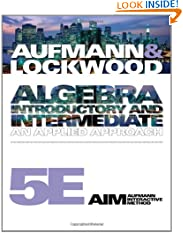 Algebra: Introductory and Intermediate: An Applied Approach (Paperback)