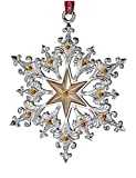 Waterford Silver 2014 Annual Snowflake Ornament