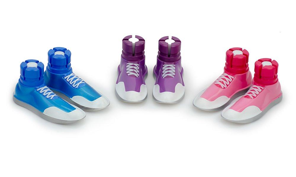 amazon com sneaker walker glides for 1 walker tubes blue 1