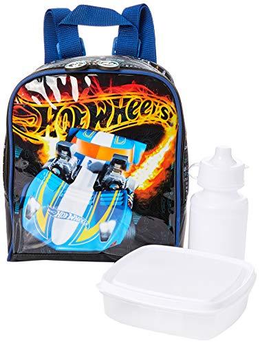 Lancheira Térmica, Hot Wheels, Mão e Costas, Luxcel, LA34475HW-0200, Azul