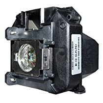 AuraBeam Professional Epson ELPLP68 Projector Replacement Lamp with Housing (Powered by Osram)