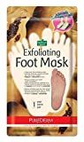 Purederm Exfoliating Foot Mask Papaya & Chamomile Extract -Sock type Foot Exfoliating Mask - Perfectly Peel Away Calluses and Dead Skin Cells in Just 2 Weeks!!! - 1 Pa