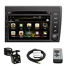 TLTek 7 inch HD 1024*600 Muti-touch Screen Car GPS Navigation System For Volvo S60/V70 2001-2004 Android DVD Player+Backup Camera+North America Map