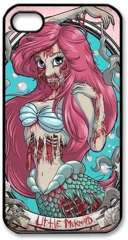 Princess Ariel Little Mermaid Zombie iphone case
