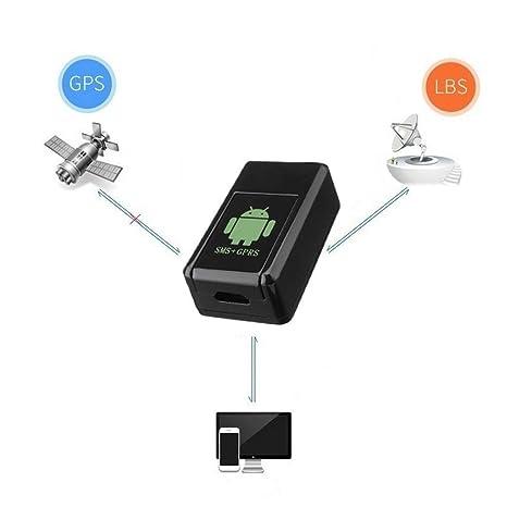 Rastreador de GPS GF-08 Mini Car Localizador de GPS Rastreador en tiempo real GSM