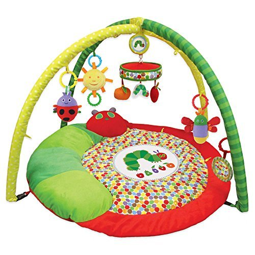 Kids Preferred The Very Hungry Caterpillar Round Play Activity Gym by The Very Hungry Caterpillar