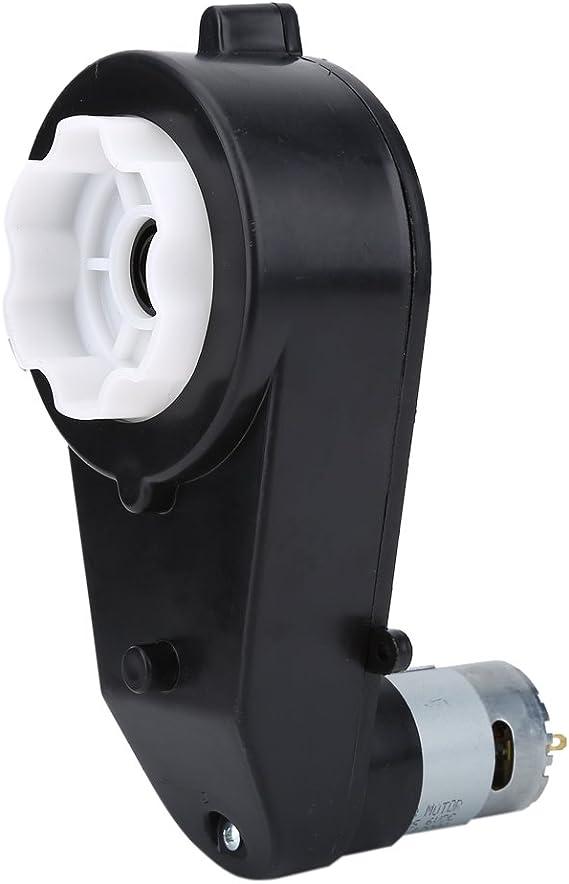 Akozon Caja de Engranajes 8000- 23000 RPM con Motor de 6V /12V, Motor eléctrico con Caja de Cambios para Ruedas eléctricas de niños, Motor de transmisión Universal RS550 (12V 8000RPM): Amazon.es: Juguetes