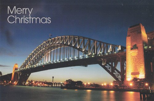 Greeting Christmas Card Australia
