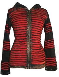 311 RJ Agan Traders Funky Cotton Bohemian Fleece Jacket Hoody