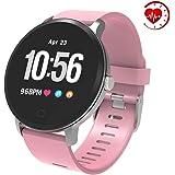 YoYoFit Edge aktivitetsmätare, smart klocka med puls och BP monitor fitnessklocka med stegräknare sömnmonitor bra…