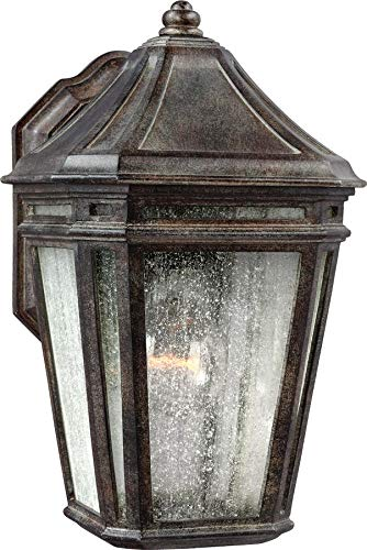 Feiss OL11300WCT-LED Londontowne LED Marine Grade Outdoor Patio Lighting Wall Lantern, Bronze, 1-Light (7