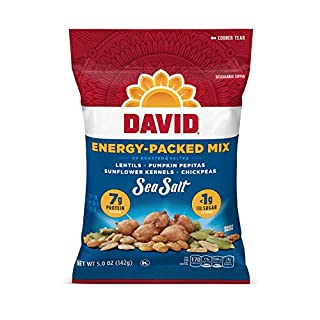 David Seeds Sea Salt Energy-Packed Mix for Snacking, 5 oz.