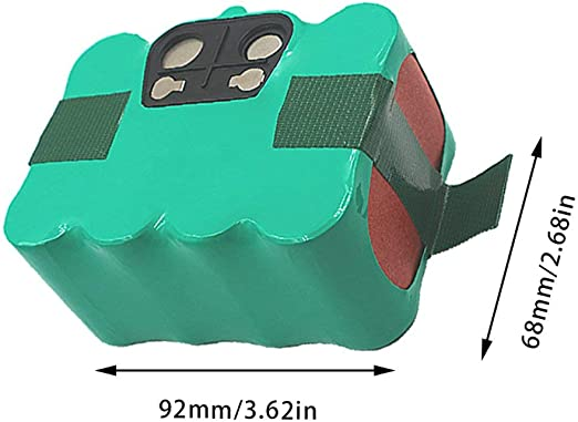 Limpiador robot de aspiradora Ni-mh de batería recargable de 14.4 ...