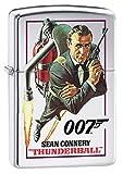 Zippo Lighter: James Bond 007 Thunderball - High Polish Chrome 79341