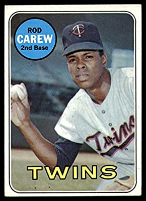 Amazon com: Baseball MLB 1969 Topps #510 Rod Carew Excellent Twins