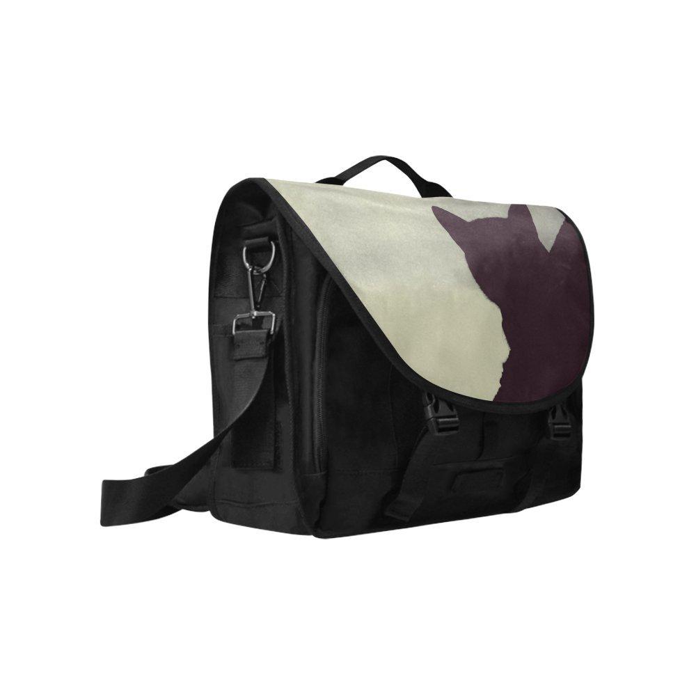 Kitchor Custom Catman Oxford Fabric Laptop Messenger Shoulder bag