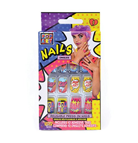 Pop Art Nails -