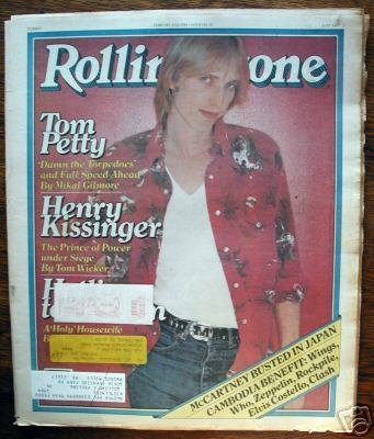 - ROLLING STONE MAGAZINE # 311--TOM PETTY ISSUE FEBRUARY 21ST, 1980