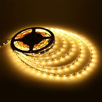 Buy glitz led strip light warm white 3528 online at low prices in buy glitz led strip light warm white 3528 online at low prices in india amazon mozeypictures Image collections