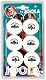 Joola Rosskopf 1 Star Table Tennis Balls - 6 pack white by Joola
