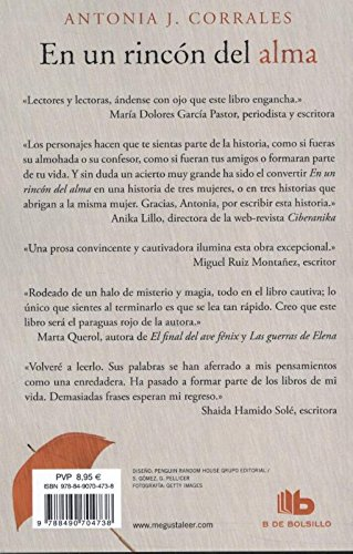 En un rincón del alma / Deep in my Soul (Spanish Edition): Antonia J. Corrales: 9788490704738: Amazon.com: Books