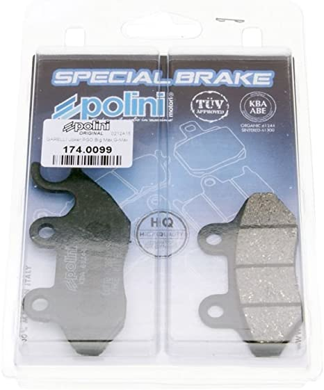 Polini Bremsbeläge Bremsklötze Organisch Kompatibel Für Sym Sanyang Orbit 2 50 125 150 Super Duke 125 150 4t Ac Auto