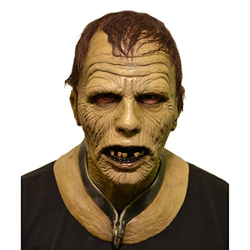 Day Of The Dead Zombie Halloween Mask (Trick or Treat Studios Men's Day Of The Dead-Bub Zombie Mask, Multi, One Size)